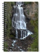Whistler Waterfalls - Alexander Falls Spiral Notebook