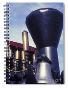 Whistles And Bells Spiral Notebook