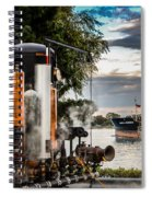 Whistles And Ship Spiral Notebook
