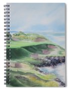 Whistling Straits 7th Hole Spiral Notebook