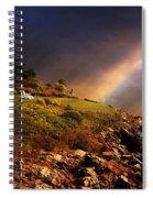White Adirondacks Spiral Notebook