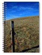 Appalachian Trail White Blaze Post Spiral Notebook