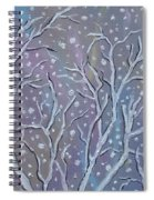 White Branches Spiral Notebook