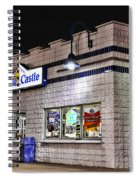 White Castle Spiral Notebook