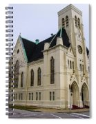 White Cathedral Spiral Notebook
