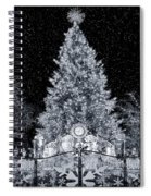 White Christmas In Texas Spiral Notebook