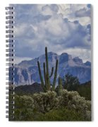 White Cotton Candy Clouds  Spiral Notebook