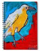 White Crow Spiral Notebook