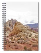 White Domes Panorama Spiral Notebook