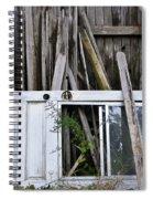 White Door Spiral Notebook