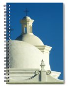 White Dove Of The Desert Spiral Notebook
