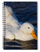 White Duck 2 Spiral Notebook
