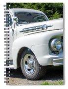 White F-1 Spiral Notebook
