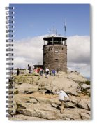 White Face Lookout Spiral Notebook