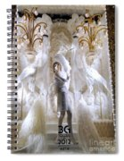White Feathers Spiral Notebook
