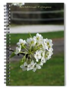 White Florescence Spiral Notebook