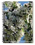 White Flowering Crabapple Tree Spiral Notebook