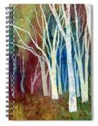 White Forest I Spiral Notebook