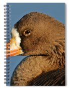 White-fronted Goose Spiral Notebook