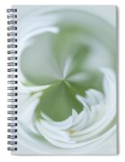 White Green And Round Spiral Notebook