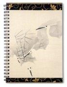 White Herons Spiral Notebook