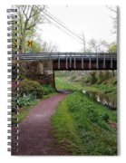 White Horse Canal Spiral Notebook