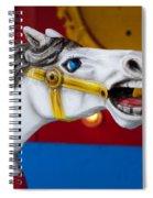 White Horse Spiral Notebook