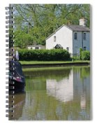 White House And House Boat Spiral Notebook