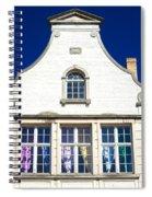 White House In Bruges Spiral Notebook