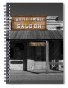 White House Saloon Spiral Notebook