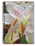 White Innocence Spiral Notebook