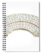 White Jade Spiral Notebook