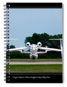 White Knight Spiral Notebook