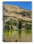 White Knob Mountain Lake Spiral Notebook