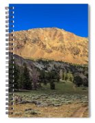 White Knob Mountain Peak Spiral Notebook