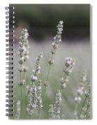 White Lavender Spiral Notebook