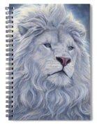 White Lion Spiral Notebook