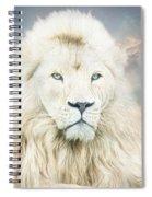 White Lion - Spirit Of Goodness Spiral Notebook