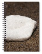 White Marble Spiral Notebook
