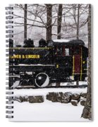 White Mountains Railroad And Train Spiral Notebook