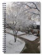 White Neighbourhood Spiral Notebook