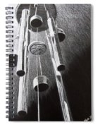 White Noise Spiral Notebook