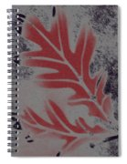 White Oak Leaf Spiral Notebook