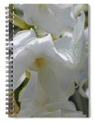 White Oleander Spiral Notebook