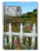 White Picket Fence In Mendocino Spiral Notebook