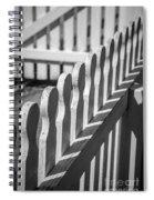 White Picket Fence Portsmouth Spiral Notebook