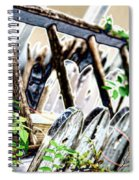 White Picket Fence Spiral Notebook