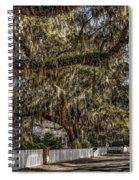 White Picket Fences Spiral Notebook