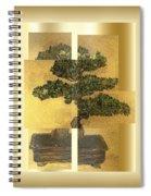 White Pine Bonsai Spiral Notebook