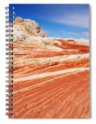 White Pocket 2 Spiral Notebook